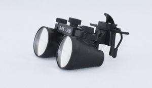 lupa binocular sin montura