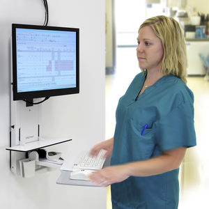 estación de trabajo informática médica