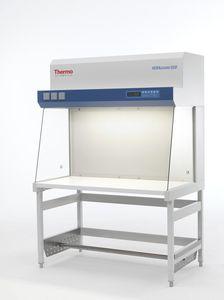 cabina de limpieza de laboratorio