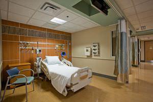 unidad médica de cabecera mural