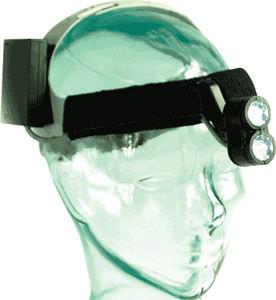 lámpara frontal veterinaria