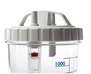 recipiente colector para succionador médico