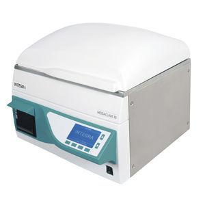 sistema de preparación de medios automática / con agitación / calefacción / de esterilización