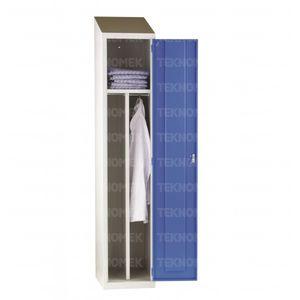 taquilla de almacenamiento / para lavandería / de hospital / con estantes