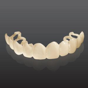 material para carillas dentales / opaco / blanco / temporal