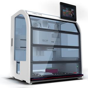 estación de trabajo de laboratorio automatizada