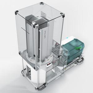 etiquetadora para tubos de laboratorio / automática / de códigos de barras