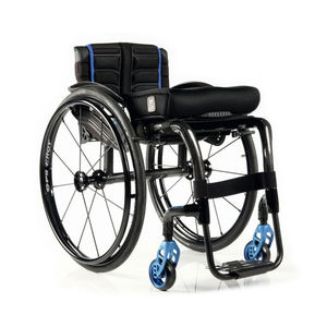 silla de ruedas activa / de exterior / de interior / con reposapiernas