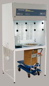cabina para la manipulación de polvos