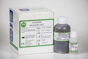 reactivo de albúmina / de química clínica / de suero / de colorimetric