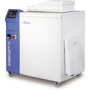 sistema de tratamiento de desechos para material peligroso / para centro sanitario / para centro de diálisis / de laboratorio