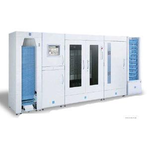 sistema automatizado de embalaje y distribución de medicamentos