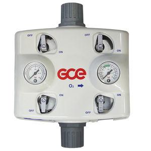 colector para gas médico para hospitales