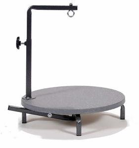 mesa de aseo rotante / manual