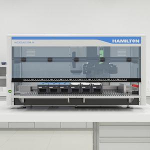 sistema de preparación de muestras automatizado