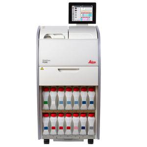 sistema de preparación de muestras para laboratorio de histología / de tejidos / compacto / con pantalla táctil