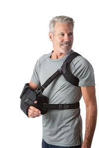 cabestrillo con cojín de abducción de hombro