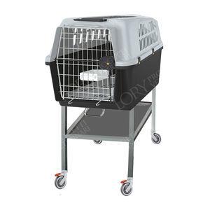 jaula veterinaria para gatos / modular / de acero inoxidable