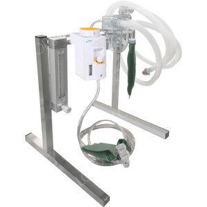 estación de anestesia para animales grandes