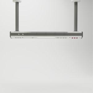 columna de distribución / de techo