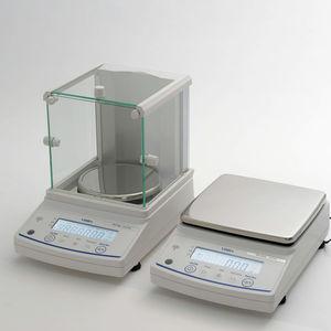 balanza de laboratorio electrónica / de precisión / con pantalla LCD / de mesa