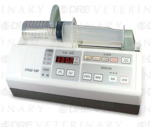 bomba de jeringa anestesia / veterinaria / 1 vía