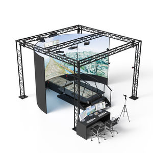 sistema de rehabilitación equilibrio / marcha / pediátrico / configurado para ordenador