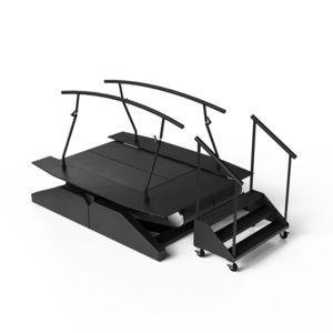 sistema de rehabilitación equilibrio / marcha / configurado para ordenador