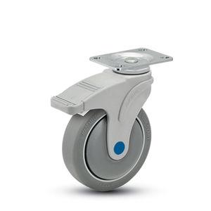 rueda de acero inoxidable