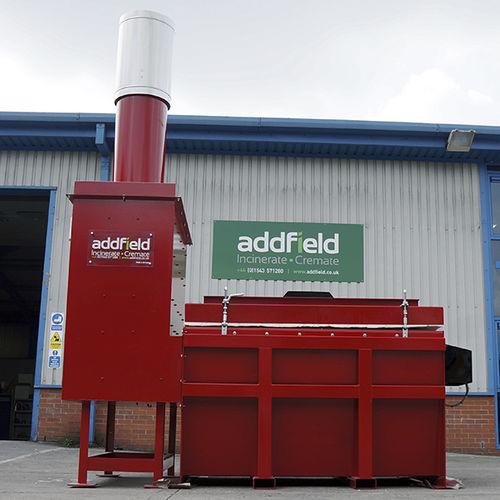 incinerador para centro sanitario - Addfield Environmental Systems