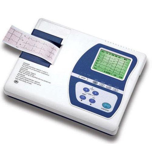 electrocardiógrafo 3 canales / digital