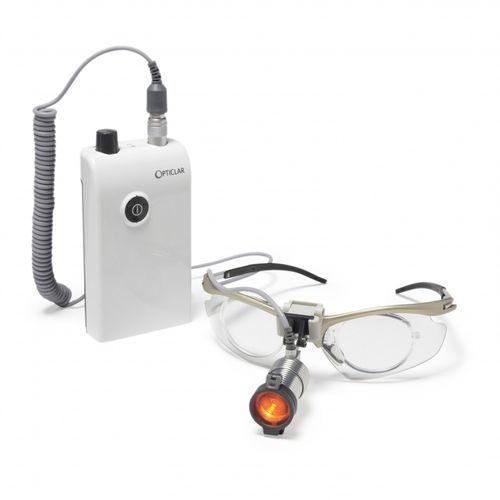 lámpara frontal LED