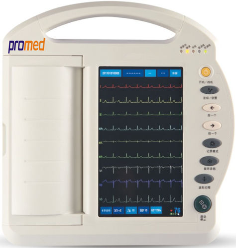 electrocardiógrafo 12 canales / digital