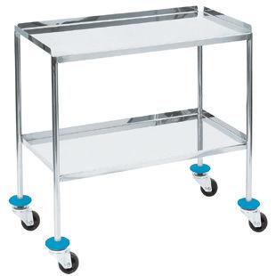mesa de instrumentos con ruedas