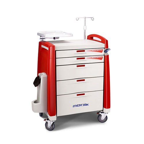 carro de emergencia - Zhangjiagang Medi Medical Equipment Co.,Ltd