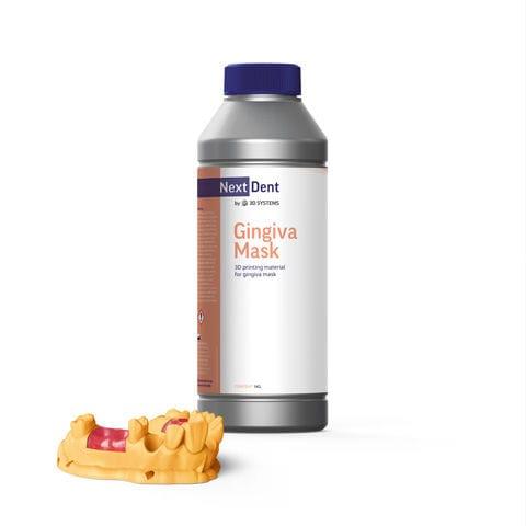 material dental de fibra acrílica / de modelado / para impresión en 3D / gingival