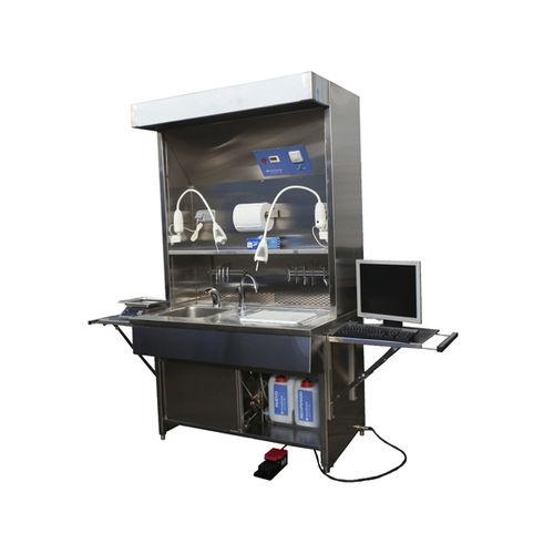 estación de trabajo de laboratorio de macroscopia