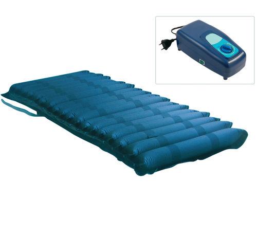colchón para cama médica / de presión alterna / antiescaras / con bomba de aire