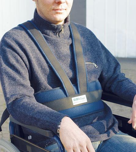 correa de fijación para silla de ruedas / para silla con orinal