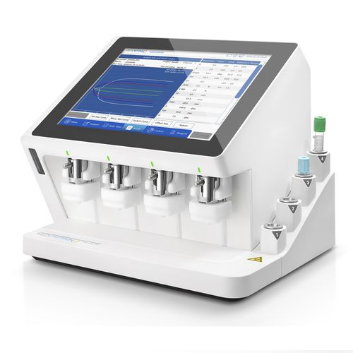 analizador de coagulación automático
