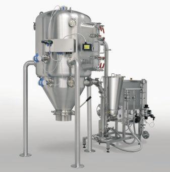 sistema de micronización de chorro de aire