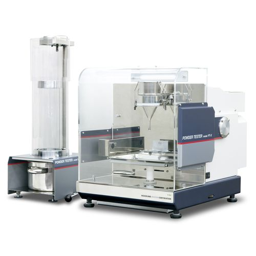 tester de densidad de polvos / de fluidez de polvos / para la industria farmacéutica / de laboratorio