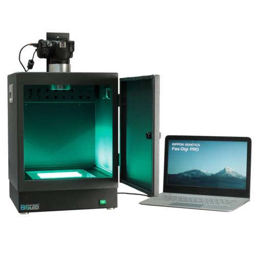 sistema de documentación en gel con cámara CMOS