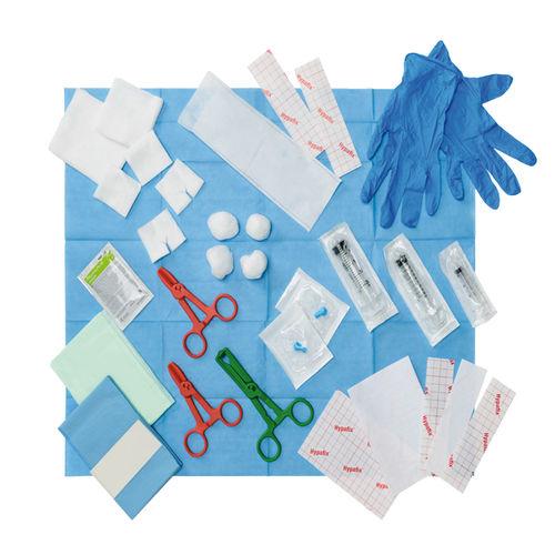 kit médico de diálisis
