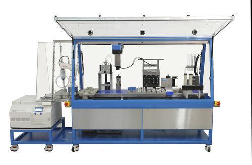 sistema de automatización de laboratorio robotizada