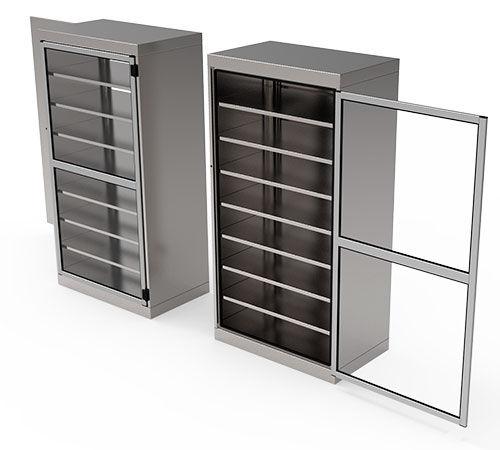 armario para objetos esterilizados