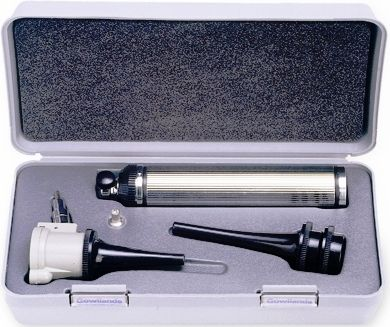 otoscopio veterinario / rígido / con espéculo