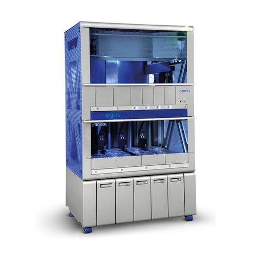 sistema de preparación de muestras totalmente automatizado / para hematología / por dilución / de sangre