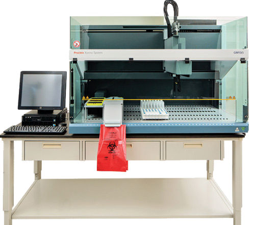 sistema de preparación de muestras de laboratorio / por pipeteo / de suero / por plasma