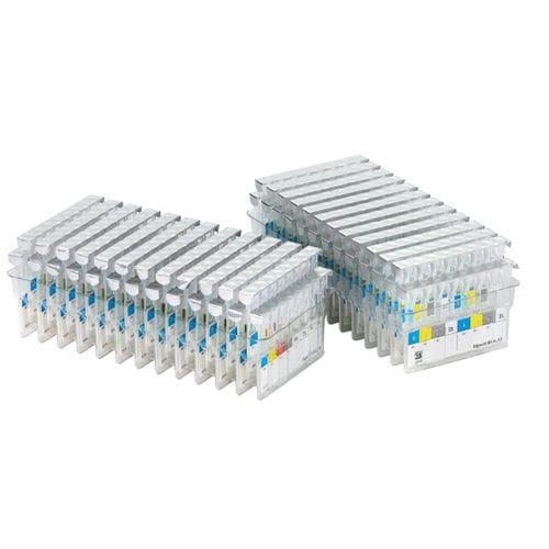 kit de prueba de agrupamiento sanguíneo / de sangre / de laboratorio / por hemaglutinación